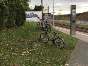 Fahrradständer Malchen
